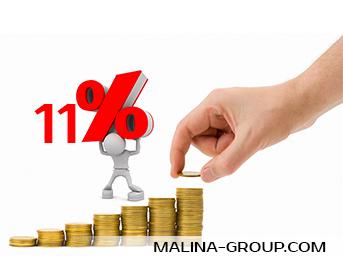 ЦБ РФ сохранил ключевую ставку на уровне 11 процентов