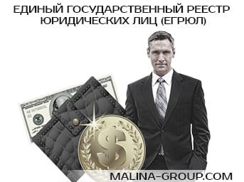 Единый государственный реестр юридических лиц (ЕГРЮЛ)