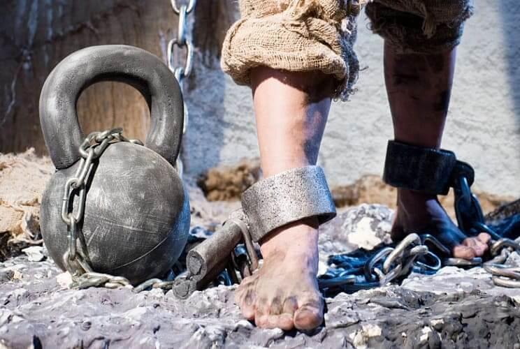 Всего в Мавритании примерно 600 тысяч рабов
