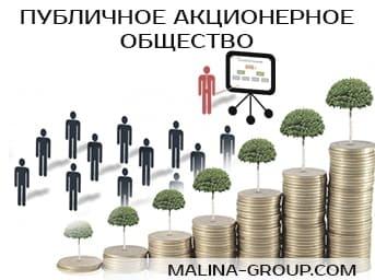 Публичное акционерное общество (ПАО)