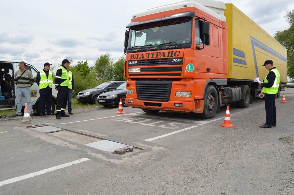 Штраф за перегруз грузового автомобиля по осям в 2021 году