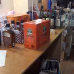 Контрабанда алкоголя и сигарет