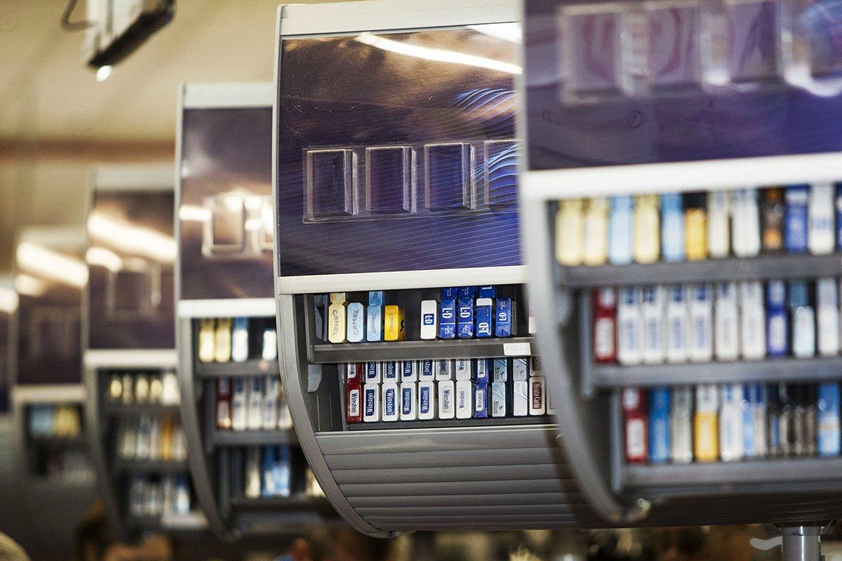 Продажа сигарет в 2021 году