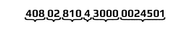 Что означают цифры в расчетном счете