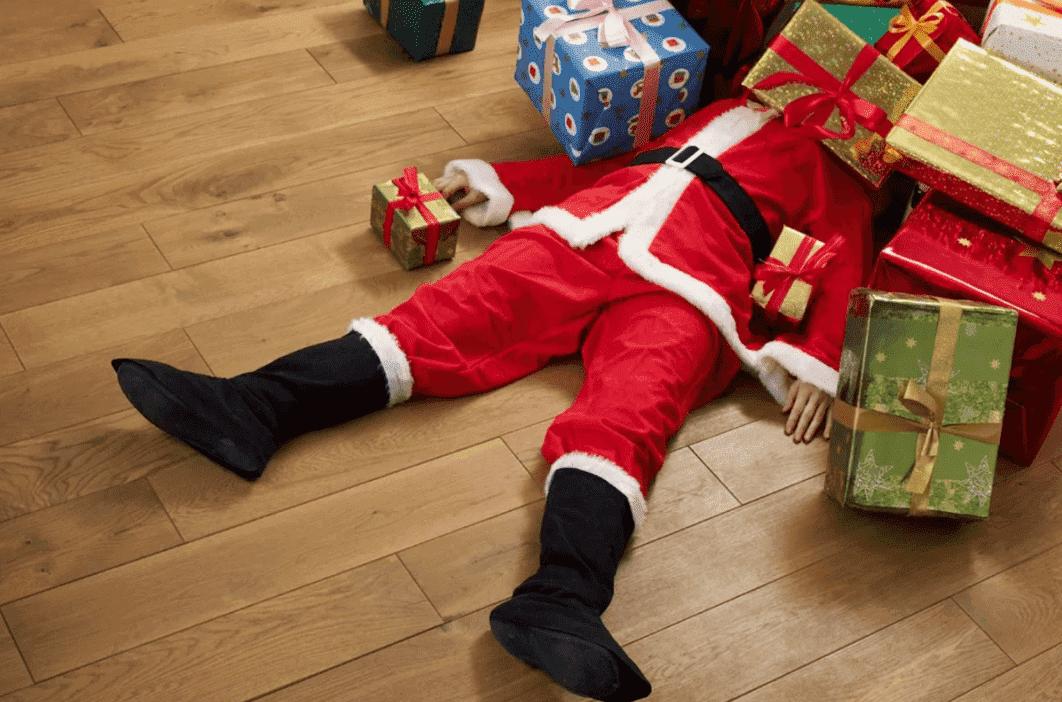 Оригинальные и забавные преступления на Новый год